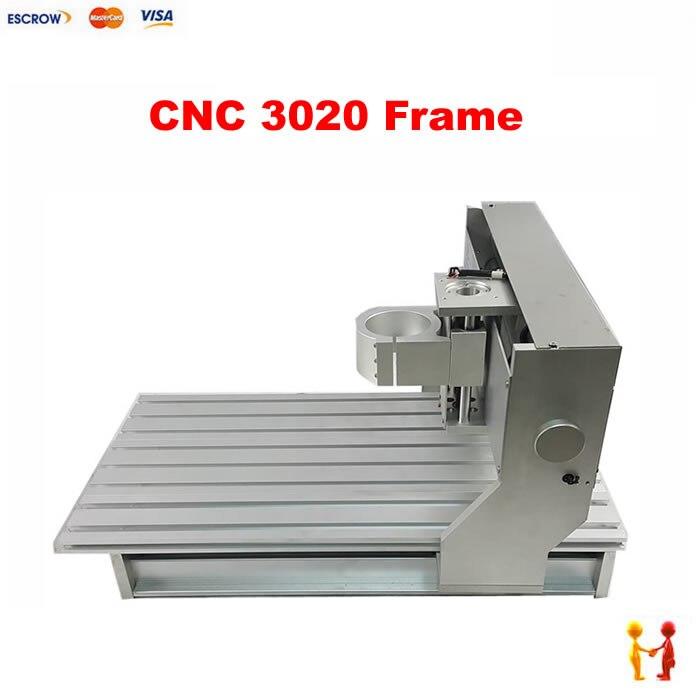 Mini fresadora cnc, Marco 3020 con interruptor de límite, kit cnc diy
