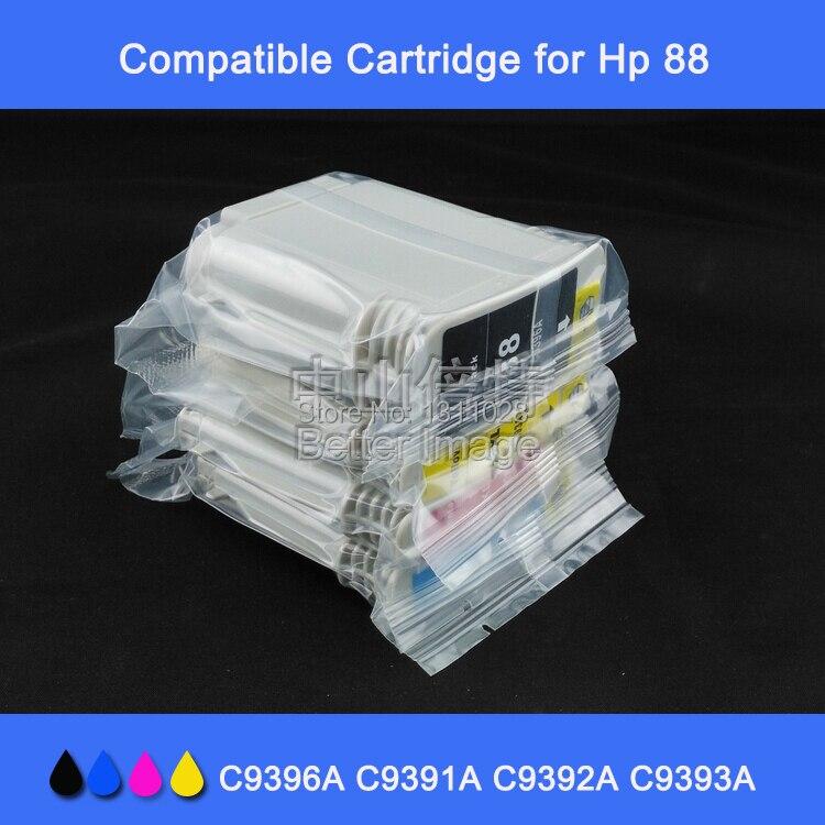 INK WAY 12 PK Compatible para HP88 C9396A C9391A C9392A C9393A alta calidad cartuchos de tinta Oficina pro K550 L7580 k8600