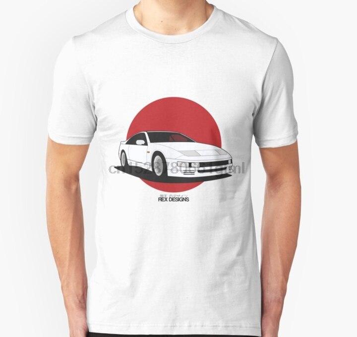 Camiseta de manga corta para hombre, Nissan Fairlady 300ZX Z32 (Rising Sun), camiseta Unisex para mujer