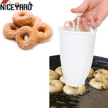 Форма для пончиков легкая быстрая портативная машинка для изготовления пончиков ручной вафельный дозатор машина для пончиков арабский вафельный пластик легкая глубокая Жарка