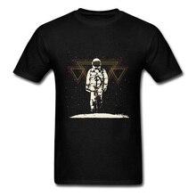 Summer Spaceman T Shirts Men Unique T-Shirt Classic Tshirt Astronaut Summer Tops & Tees Cotton Fabric Clothes Drop Shipping
