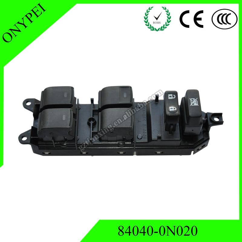 84040-0N020 interruptor de Control de ventana de alta calidad para Toyota Crown GRS202 3GRFE GRS208 5GRFE UZS200 840400N020