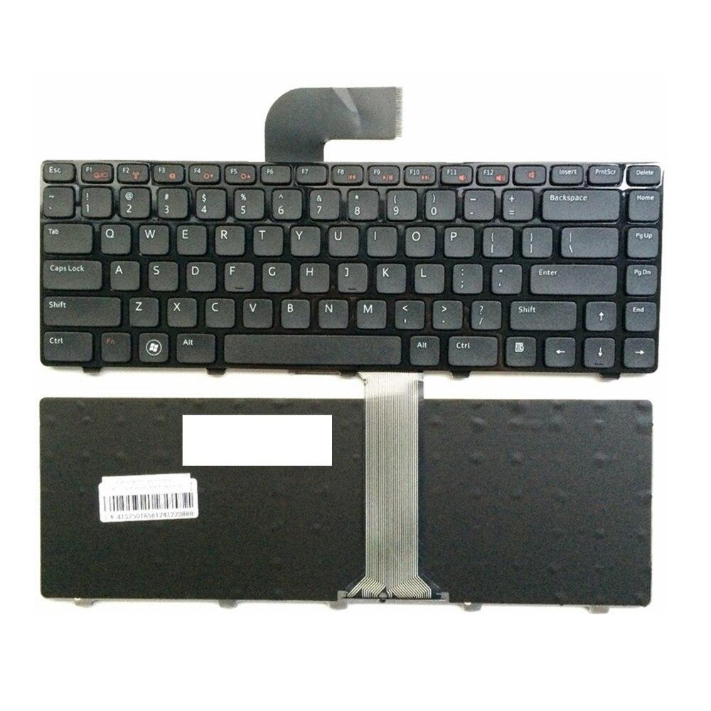 Клавиатура США для DELL для Inspiron 15R 5520 7520 0X38K3 65JY3 065JY3 Enginsh черная клавиатура для ноутбука с рамкой