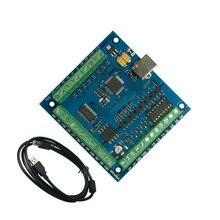 100 KHz CNC mach3 USB 4 axes pas à pas carte de mouvement contrôleur carte de rupture