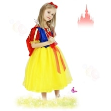 Neige blanche princesse Costumes Cosplay mignon enfants Performance vêtements haute qualité enfants robe