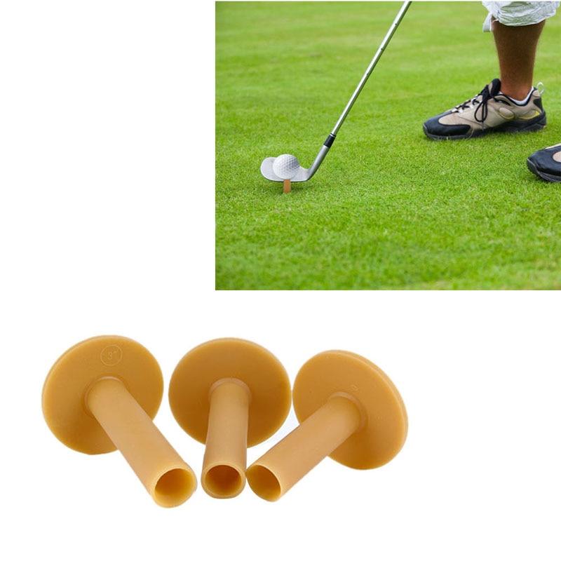 60/70/80mm Rubber Driving Range Golf Tees Holder Tee Home Training Practice Mat