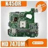 K45DR האם HD7470M 1GB עבור For Asus A45D A45DR K45D R400D R400DR מחשב נייד האם K45DR Mainboard K45DR בדיקת לוח האם