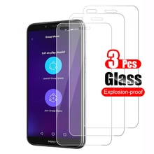 3Pcs For Huawei P9 lite mini Tempered Glass Screen Protector Protective Film 9H Scratch Proof Glass