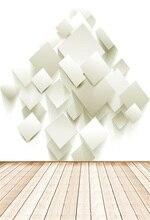 Laeacco 3D papiers mur plancher en bois bébé photographie arrière-plans vinyle personnalisé caméra photogaphique décors pour Studio Photo