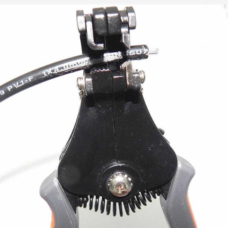AWG24-10 (0,2-6,0 мм2) WX-D2 дизайн многофункциональный кабель провода зачистки плоскогубцы, режущие и обжимные инструменты