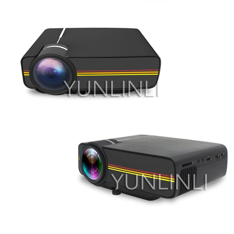 Le Jiada YG400 Mobile Phone With Screen Projector Portable Home Projector Computer Dormitory HD Home Theater YG400 enlarge