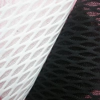 black white air spacer sandwich mesh fabrics sofa cloth car seat cover dog house fabric thick breathable sewing sportwear tissue