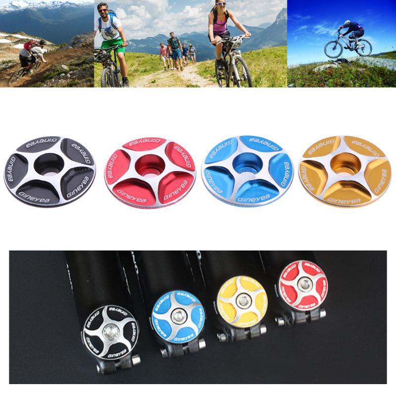 Aluminium Fahrrad Headset Stem Top Cap Threadless Fahrrad Bike Headset Kappen 28,6mm Berg MTB Radfahren MTB Fahrrad Headset Abdeckung
