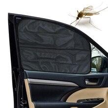 AOZBZ  Car Window Sun Shade UV Protector Mesh Fabric Sun Visor Shade Cover Shield Auto Sunshade Curtain Magnet Easy Installation