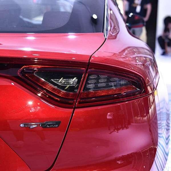 Legal estilo do carro 3d etiqueta gt linha letras etiqueta para kia tronco traseiro fender portas carro adesivos gt linha