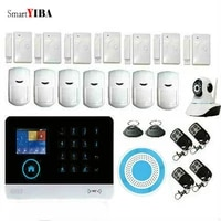 SmartYIBA     camera IP Wifi 3G sans fil  systeme dalarme de securite domestique anti-cambriolage  voix russe  espagnole  francaise et allemande