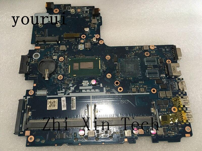 Yourui 782637-001 782637-601 LA-B181P ل HP Probook 450 G2 اللوحة المحمول المعالج i3-4005u DDR3 اختبار موافق