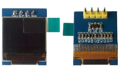 0.66 polegadas 4 p branco oled módulo ssd1306 drive ic 64*48 iic interface