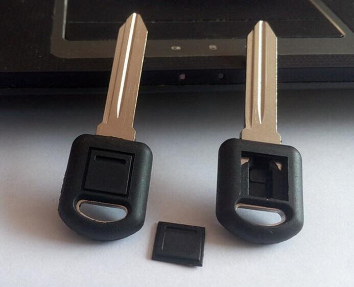 Transpondedor llave funda de coche llave en blanco para Buick GL8 para GM
