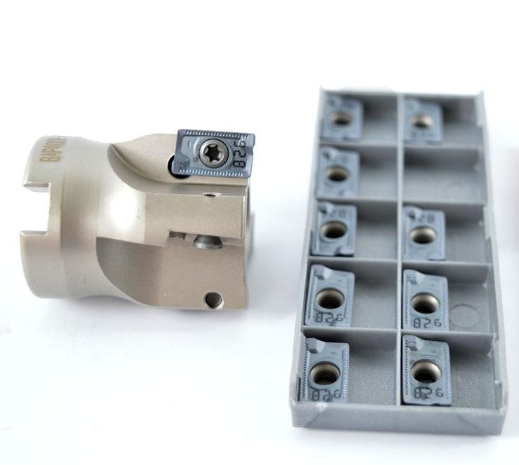 Inserto de BAP400R-40-16-3T fresadora de cara Indexable con APMT1604/APKT1604PDR