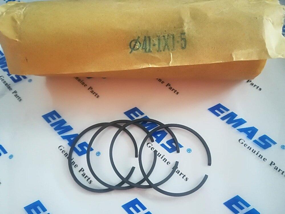 100 шт. 41 мм X 1,5 м поршневое кольцо для партнера 350 351 POULAN 2250 220 221 260 40cc 42cc бензопила KOBLEN комплект цилиндров в сборе