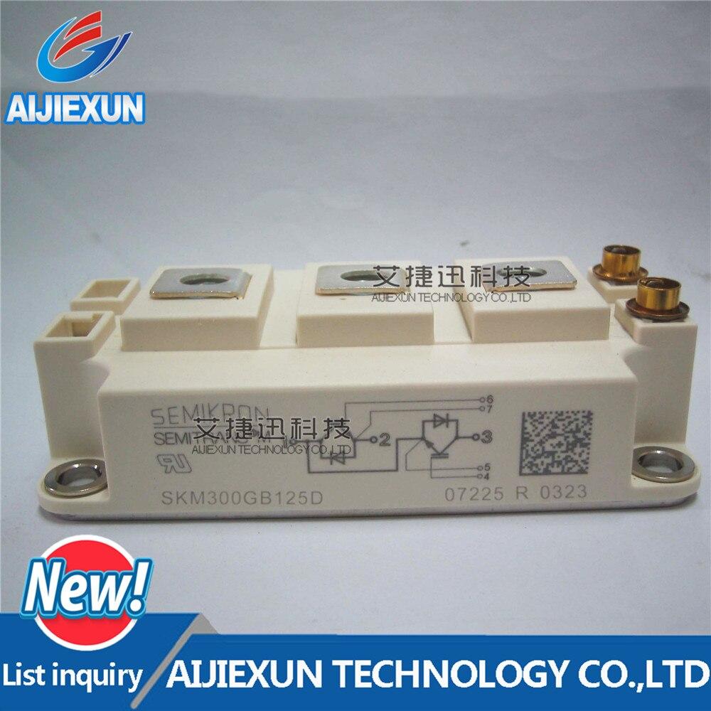 1 piezas SKM300GB125D Ultra rápida IGBT módulo nuevo y original