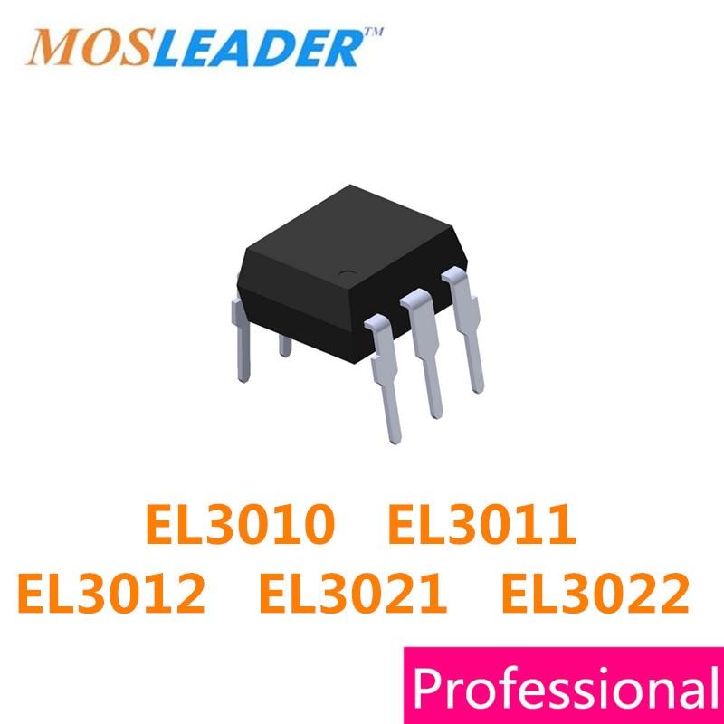 Mosleader DIP6 DIP5 100PCS EL3010 EL3011 EL3012 EL3021 EL3022 3010 3011 3012 3021 3022 High quality