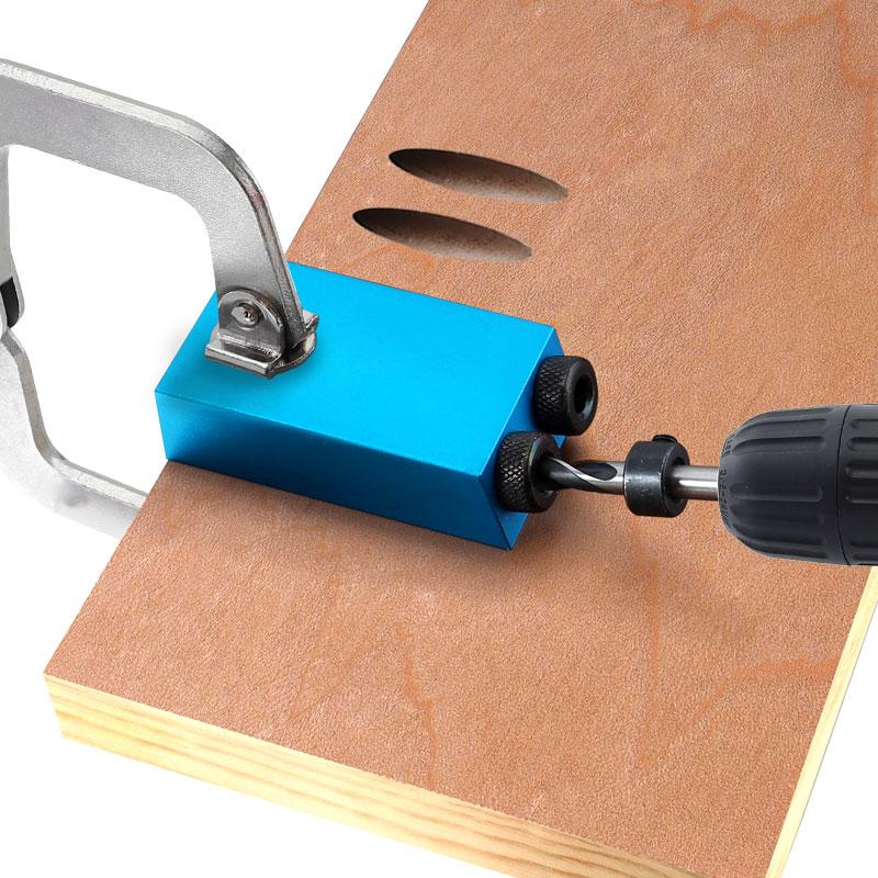 Dima per foro tascabile sostituibile 6, 8, 10mm guida per trapano kit - Punta da trapano - Fotografia 6