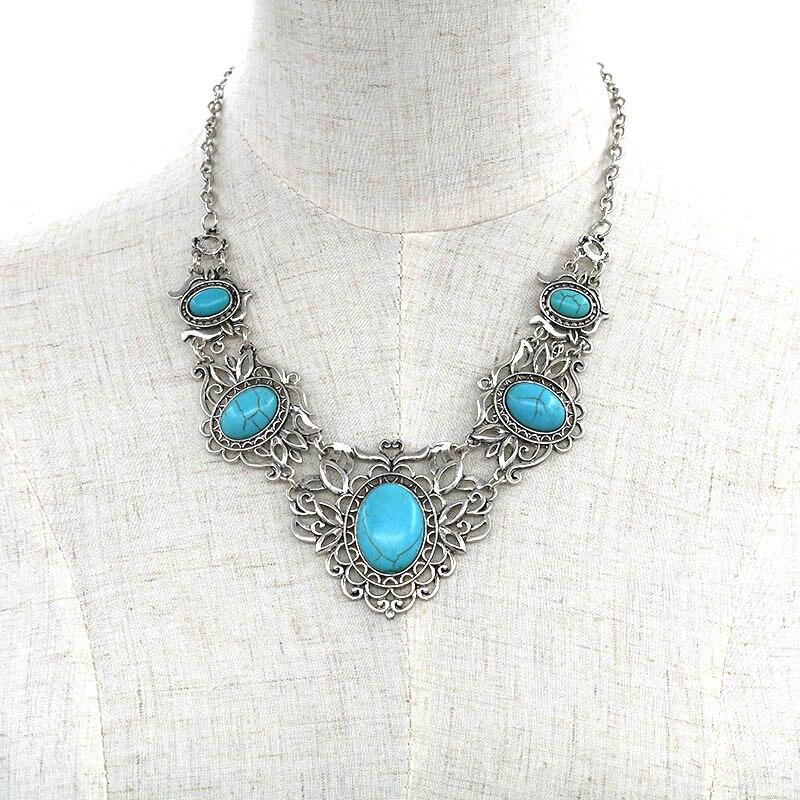 Этнический стиль, бохо, ожерелье для женщин, новая мода, воротник бохо, большой бисер, ожерелье, ювелирных изделий