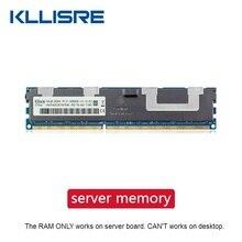 Memoria de servidor ECC Kllisre DDR3 1 GB 2GB 4GB 8GB 16GB 32GB 1333 de 1600 a 1866MHz dimm REG ram admite X58 X79 placa base
