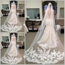 2019 Beautiful 1 Meters Bride Veils With Comb 1 Layer Wedding Veil Weddings Accessories Wedding Veil
