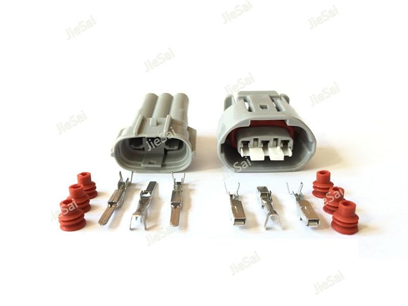Conector de cable de alternador Sumitomo 090 TS macho hembra 6188-0282 6189-0443 de 3 pines para Toyota Lexus