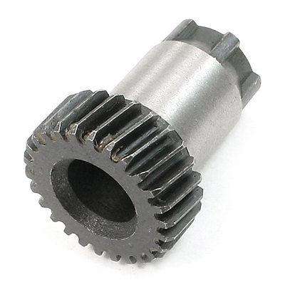 Pieza de repuesto para taladro de martillo rueda con engranaje helicoidal 26 dientes para Bosch 11218