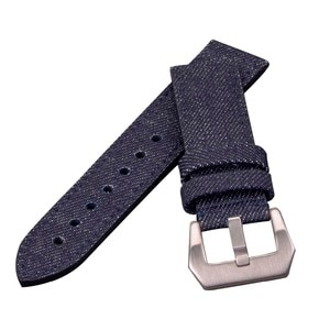 Demin Jeans Leather Watch Bands Special Cloth Watch bands Military Watch bands 20mm 22mm 24mm