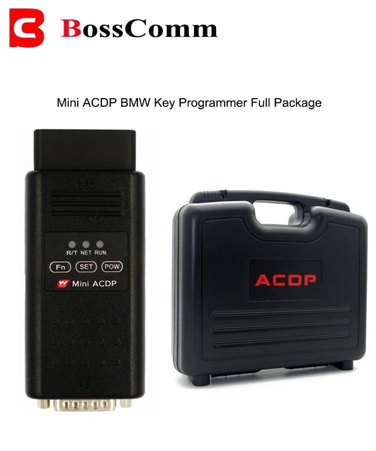 Mini ACDP Auto Car Key-Programmer for BMW CAS FEM Landrover KVM for Porsche BCM Locksmith OBD2 Tool No Soldering Immobilizer