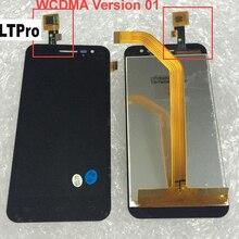 LTPro أسود اللون jy-g2f الكامل LCD شاشة عرض تعمل باللمس الجمعية ل جيايو G2F الهاتف المحمول الاستشعار استبدال