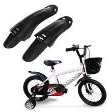 1 paire vélo garde-boue avant arrière anti-poussière pour 12/14 pouces enfants vélo