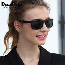 Lunettes De soleil photochromiques femme   Caméléon polarisé décoloration, lunettes dextérieur carrées pour conduire, Gafas De Sol, 2019