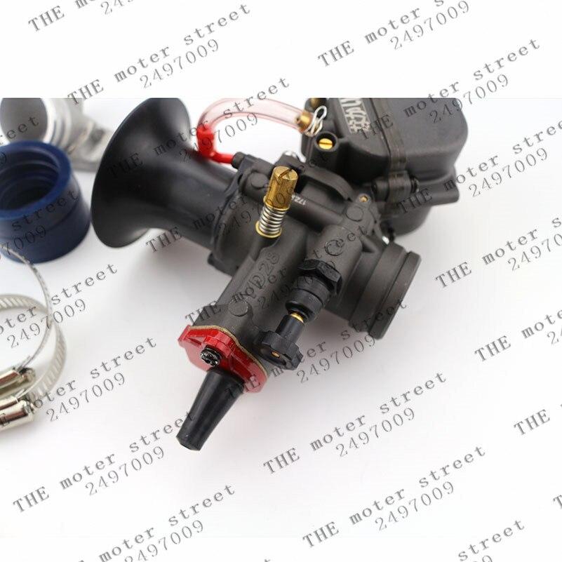 Piezas de Repuesto de carburador YD28 de 28mm con Power Jet para motocicleta ATV 125cc 124cc 792-404-8100, 671-040R6500
