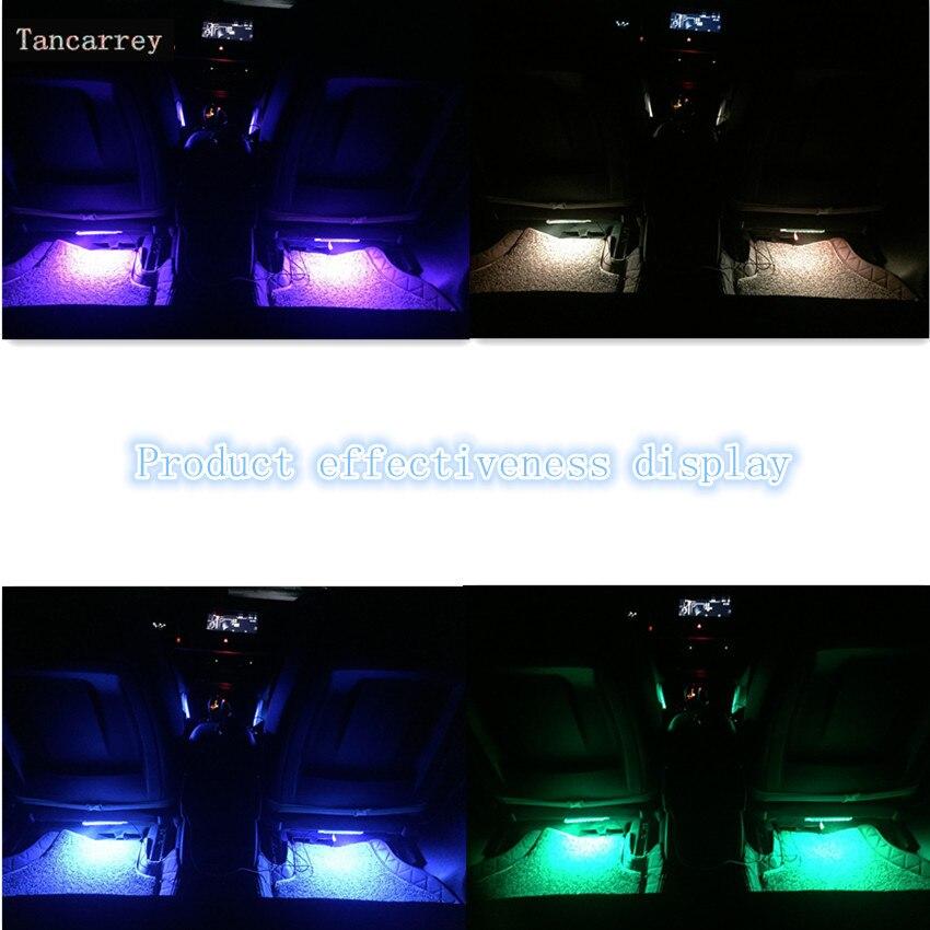 ¡Novedad de 2020! ¡oferta! Tira de luces LED RGB para volkswagen passat b8 volvo xc40 w220 mercedes volkswagen pol accesorios para coche