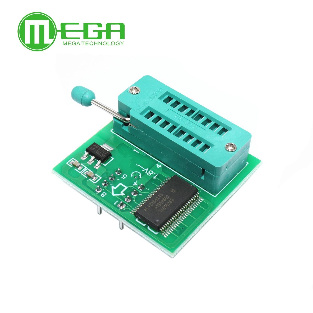 1.8V adapter for  motherboard 1.8V SPI Flash SOP8 DIP8 W25 MX25 use on programmers TL866CS TL866A EZP2010 EZP2013 CH341