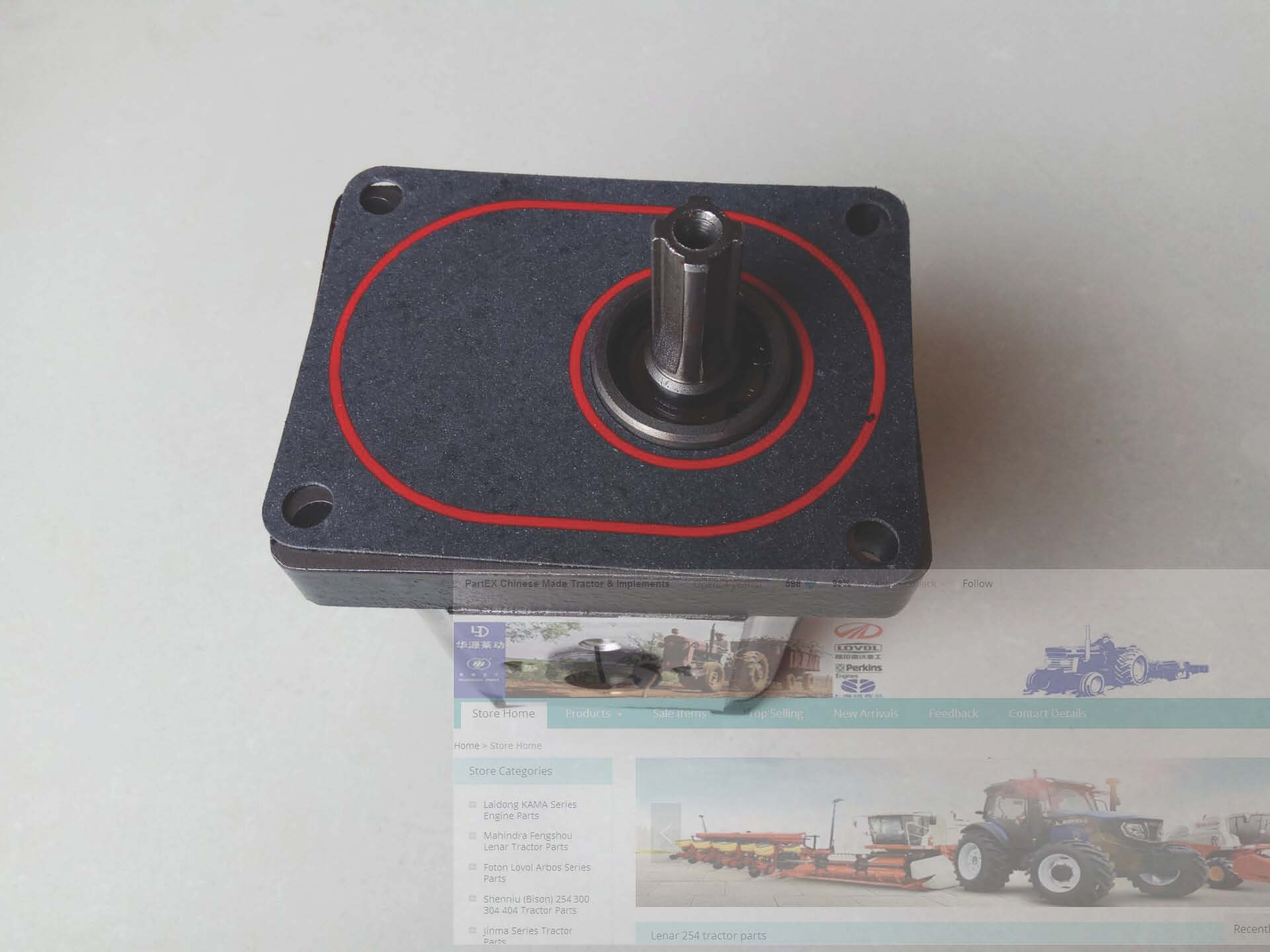 Bomba de engranajes para tractor Foton Lovol FT704 724 824, número de pieza FT700.58D.010
