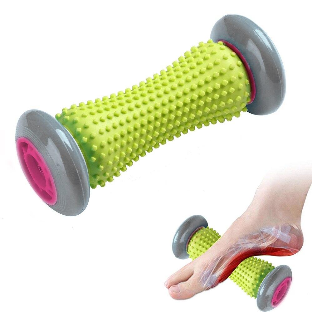 Массажный ролик для ног из мягкой резины, инструмент для глубокого восстановления тканей, релаксации, расслабления плеч, рук, ног