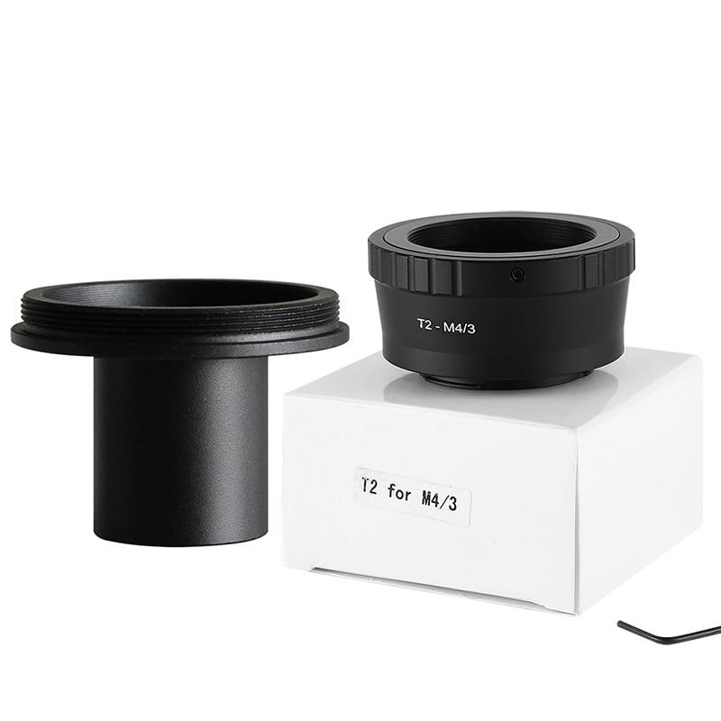 T2 для M4/3t объектив Olympus Micro 4/3 Адаптер для крепления камеры + 0,91in 23,2 мм окуляр порты микроскоп адаптер