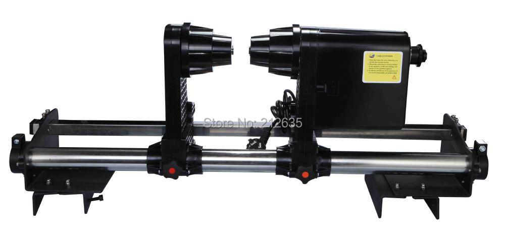 Papel de tomar rollo sistema de papel receptor para Mutoh RJ900 RJ8000 RJ8100 VJ1604 VJ1618 VJ1628 VJ1638 impresora