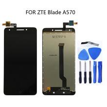Оригинальный Для ZTE blade A570 T617 A813 ЖК дисплей сенсорный экран дигитайзер Замена для ZTE blade A 570 Набор для ремонта сенсорной панели