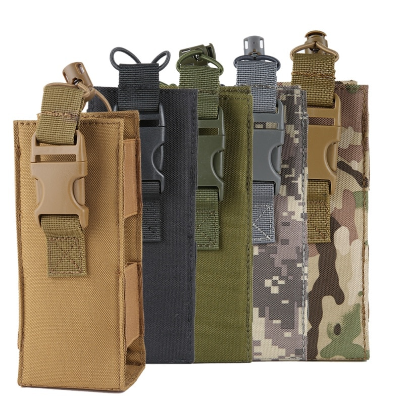 600d saco de água de náilon molle tático saco militar cantina capa coldre chaleira ao ar livre (tático) sacos de garrafa de água