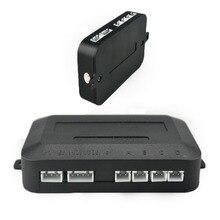 Hot Sale New Arrival Reverse Backup Radar Detector System Radar Accessory 4 Sensors Main Box DC 12V Auto Parking Sensor