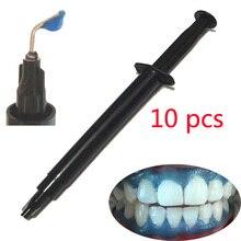 Livraison rapide 10 pièces/lot protection gingival pour blanchiment des dents gel protecteur de gomme avec des conseils