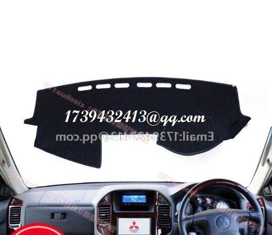 Für Mitsubishi Montero Pajero 3 V77 V75 v73 2000 2001 2002 2003 2005 2006 dashmats auto-styling zubehör armaturenbrett abdeckung RHD